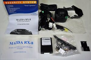Genuine Mazda RX-8 Factory Alarm Upgrade KIT