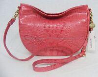 NWT! Brahmin Mini Kathleen Hobo Shoulder/Crossbody Bag in Tulip Pink Color