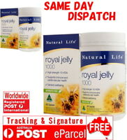 Natural Life Royal Jelly 1000 365 Capsules