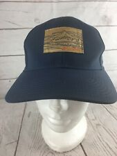 f2eafdc2 Blue Unisex Size 0/S Columbia Strapback Ball Cap Hat Embroidered Cotton  Patch