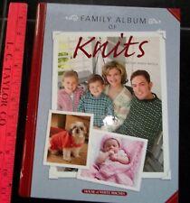 Family Album of Knits knitting pattern book hardcover publ. 2006 Bobbie Matela