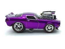 The Original Muscle Machines 1971 71 Chevy Camaro Z/28 Purple Diecast 1/64 Loose