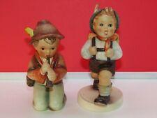 "New ListingLot 2 Vtg Goebel Hummel Tmk-3 ""Little Tooter"" & Tmk-5 ""School boy"" figurines"
