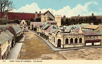 Rare Scenic Postcard 'Model Town of Wimbrone', The Square, England Unposted 1972