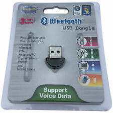 USB Bluetooth Wireless Adapter V2.0 Mini Dongle for Windows XP 7 8 10 PC Voice