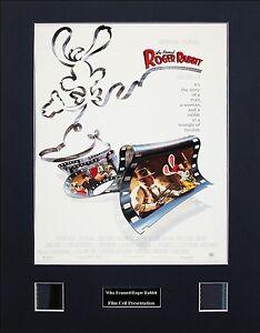 Who Framed Roger Rabbit Photo Film Cell Presentation