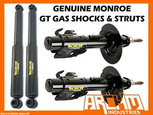 MONROE GT GAS FRONT & REAR STRUTS & SHOCKS FOR FORD FALCON BA AND BF UTE