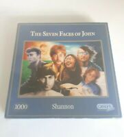 Gibsons The Seven Faces of John Lennon 1000 piece jigsaw puzzle G472 Beatles New