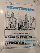 BEASTIE BOYS 2005 OFFICIAL PROMO POSTER, AUSTRALIAN TOUR POSTER