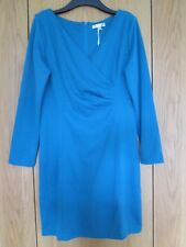 Ladies Nougat London Fitted Teal Dress Size - Medium