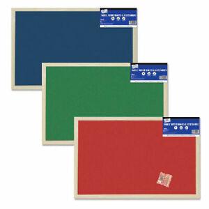 Fabric Notice Board 400 x 600mm - Family Home Teaching School Homework Pin Up