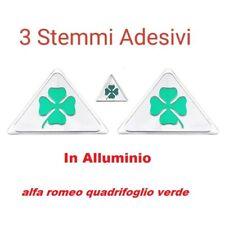 3 Stemma Alfa Romeo Quadrifoglio Verde Qv Mito Giulietta Giulia 147 159 Brera