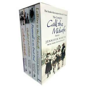 Jennifer Worth Call the Midwife series 4 Books set collection pack NEW