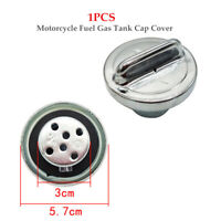 1PC Universal Modified Motorcycle Bike Fuel Gas Tank Cap Cover Part