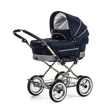 Emmaljunga Einsitzer-Kinderwagen mit Regenschutz