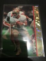 1993 Ballstreet Steve Young Football Card San Francisco 49ers NMMT Card Prism