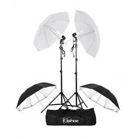 "Photography Photo Studio 33"" Umbrellas Day Light Reflector Umbrella Lighting Kit"