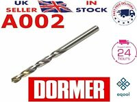 "SKF DORMER JOBBER LENGTH  DRILL LH LEFT HAND CUT WIRE GAUGE 4  0.209/"" 5.309mm"