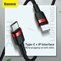 Baseus USB Type C to Lightning 18W Charger Cable Data Cord iPhone Charging Lead