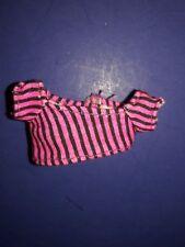 Monster High Doll Clothes Gloom Beach Clawdeen Wolf Striped Shirt Top