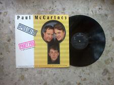 "PAUL MC CARTNEY - SPIES LIKE US - 12"" 1985 UK ORIGINAL press 4 songs EX+/EX+"