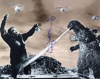 1954-1971 Haruo Nakajima Godzilla Signed LE 16x20 B&W Photo (JSA)