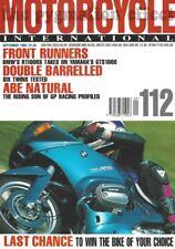 Thunderbolt Fatboy 900SS RGV250 CB500 Guzzi T100S R80R BMW R1100RS GTS1000 Abe