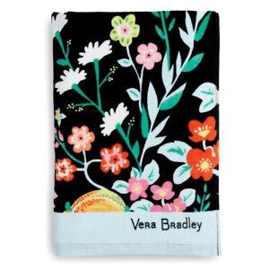 Vera Bradley **TANGERINE TWIST** Large Beach Towel 33x66 NWT