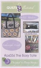 The Boxy Tote Sewing Pattern Fits Singer Featherweight Sewing Machine + 2 Stays