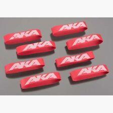 AKA Racing Tires 44002 1/8 1/10 Tire Mounting Bands (8)
