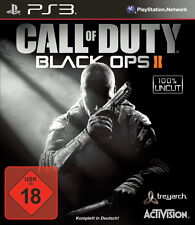 SONY PS3 Call of Duty Black Ops 2 II CoD BO  PlayStation 3 Shooter Multiplayer