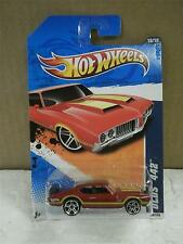 HOT WHEELS- OLDS 442- HOT AUCTION- NEW ON CARD- L149