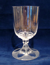 Lalique Valencay Water Goblet Glass
