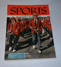 1955 Sports Illustrated PRINCETON TIGERS Marching Band !