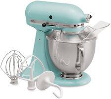 KitchenAid Blue Artisan 5-Quart Stand Mixer Martha Stewart Aqua Sky rk150aq