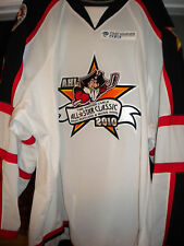 AHL  2010 ALL-STAR  MIKKO LEHTONEN GAME SIGNED WORN USED HOCKEY JERSEY LOA