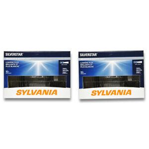 Sylvania SilverStar High Beam Low Beam Headlight Bulb for Chevrolet C20 K20 kg