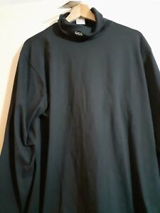 Goose and Gender Roll Neck Top Size L New with tags Navy