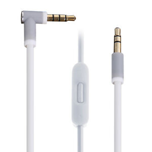 3.5mm to 3.5mm Audio Cable Cord w/ Volume Control for Beats Solo HD Studio Pro