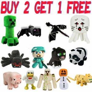 Minecraft Plush Kids Gift Children Stuffed Animal Soft Plushies Toy UK STOCK New
