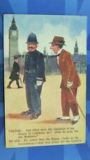 More details for political reg carter comic postcard 1913 chaplain of the house of commons police