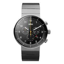 Braun Herren BN0095 Prestige Chronograf Uhr mit Edelstahlarmband, 66550, Neu+OVP