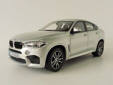 1 18 Norev BMW X6 m F86 2016 Silver