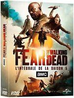 FEAR THE WALKING DEAD SAISON 5 INTEGRALE DVD   NEUF SOUS CELLOPHANE