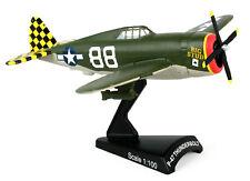 P-47 Thunderbolt 1/100 Scale Big Stud Model Aircraft Daron Postage Stamp