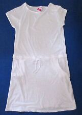 FRESH PRODUCE Small WHITE Drop Waist Tie RILEY Jersey Cotton Dress NWT New S