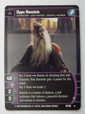 Star Wars TCG - Jedi Guardians -  Oppo Rancisis (A) 25/105 NM/Mint