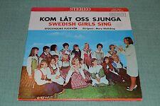 Kom Lat Oss Sjunga~Swedish Girls Sing~Stockholms Flickkor~FAST SHIPPING
