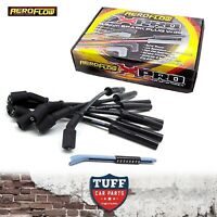 VE Holden Commodore HSV L98 LS2 LS3 V8 8.5mm Aeroflow Black Ignition Leads New