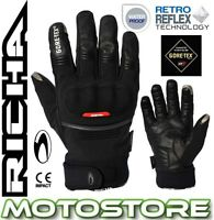 RICHA CITY GTX GORETEX THERMAL WINTER MOTORCYCLE WATERPROOF CONDUCTIVE GLOVES